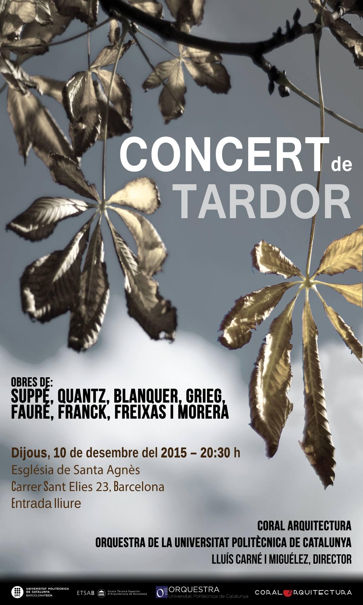 Segon concert de tardor 2015