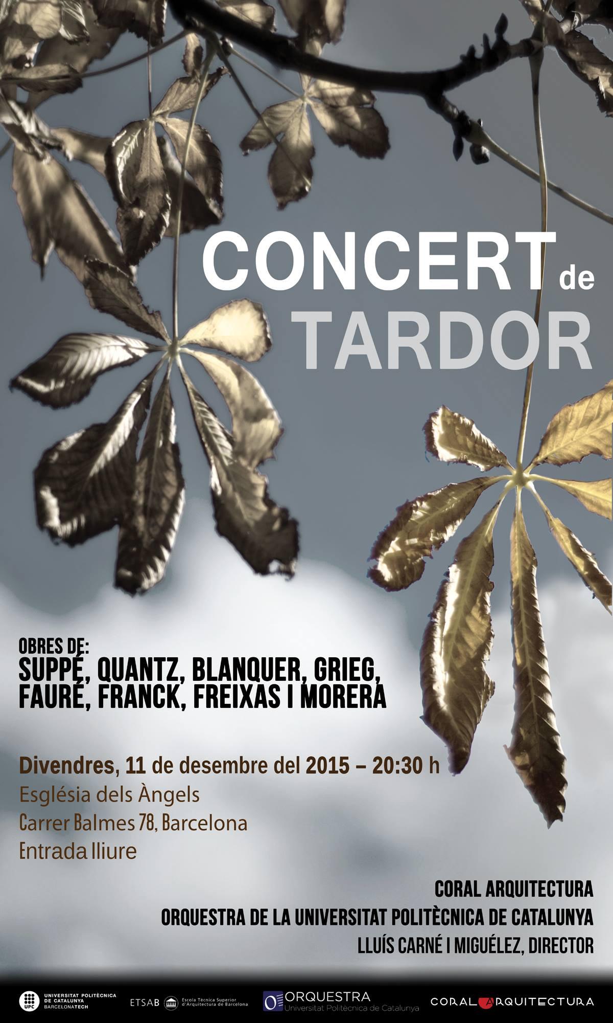 Tercer concert de tardor 2015
