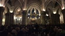 Concert in the Sagrada Familia's crypt